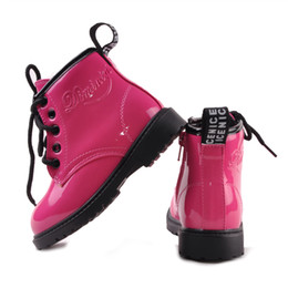 [New arrival] [Hot sale] Spring and Autumn Female child boots Fashion trend martin casual beatiful comfortable shoes Cotton fabric