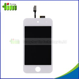 Wholesale 20pcs tested New LCD Display For iPod Touch Replacement Touch Screen Digitizer Assembly for ipod touch Tim03