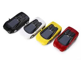 Wholesale Small Mini Toy Cars - 2016 New cute Smallest Solar Power Racing Car Mini solar toys solar energy toys Fast shipping