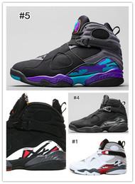 Wholesale Cheap Retro Basketball Shoes Retro VIII Sneakers Aqua Bugs Bunny Phoenix Playoffs For Mens Retro Mens Shoes For Basketball