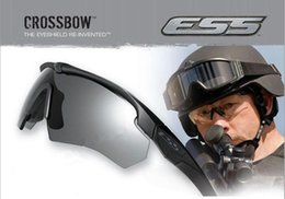 Wholesale ESS Crossbow Crossbow US military tactical goggles tactical ballistic shooting glasses outdoors UV Sunglasses