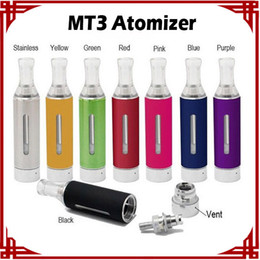 Evod MT3 Atomizer 2.4ML Max Tank Vaporizer Clearomizer For Ego E Cigarettes Vape Pen Cartridges Replacement Bottom Heating Coil