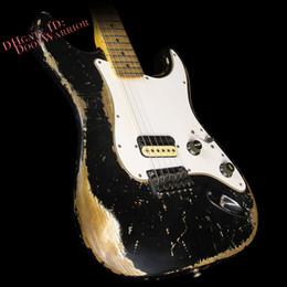 10S Custom Shop Builder Select Jason Smith Garage Mod Black Electric Guitar Free shipping