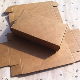 Wholesale 350gsm Kraft paper rectangle truck box x60x22mm handmade gift packing box for candy