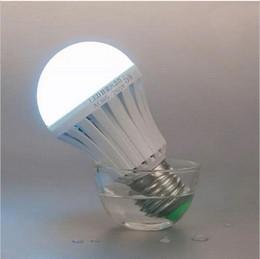 Intelligent Emergency Rechargeable LED Bulb Lamp E27 Emergency Light Home Outdoor Light 5W 7W 9W 12W AC85-265V