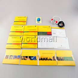 Wholesale 26 DVDs Rosettastone stone Language Library Software be Activated Language Learning DVD PK Exercise Fitness Videos workout DVD Worldmall