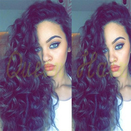 Glueless Full Lace Wigs Loose Curly Lace Front Wig 150% Hair Density Loose Wave Curly Full Lace Human Hair Wigs For Black Women