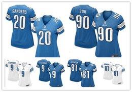 Wholesale 2016 hot sale women football Jerseys Stafford cheap Detroit nice Lions rugby jerseys elite authentic football jerseys size S XL