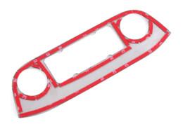 Compra Online Carbono especial-Para coches de estilo de la consola central del panel de control interiores vinilo decorativo KIA Sportage R Ajuste de la cubierta especial de acero inoxidable