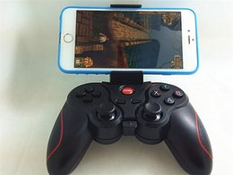 Descuento androide de la palanca de mando inalámbrico Gamepad inalámbrico 2.4G Controlador de juegos inalámbrico Gamepad Joystick Android TV Joystick VR Gamepad inalámbrico Dual USB estación de carga de muelle