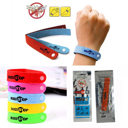 Wholesale Mosquito Repellent Bracelets Anti Mosquito for Adults& Baby Children Kids Wristbands -Natural Anti-mosquito Bracelets DHL Fedex