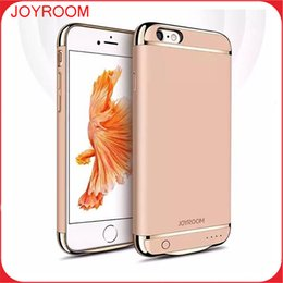Wholesale JOYROOM Power Case External Backup Battery Charger Case Cover Phone Accessories For iphone S plus S plus