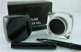 Wholesale eyeliner ,Makeup NEW Black Eyeliner Waterproof Gel Liner+Free brush