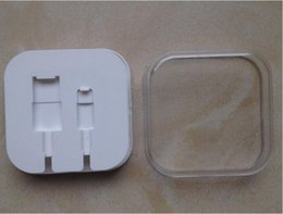 New Plastic Retail Boxes Gift Package For Iphone5 5s 6 Cable Also Have Box For Iphone4 4s high quality