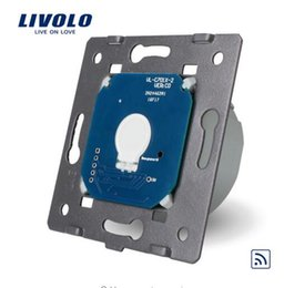 Manufacturer, Livolo EU Standard Remote Switch Without Glass Panel, 110~250V Wall Light Remote&Touch Switch,Remote control switch VL-C701R