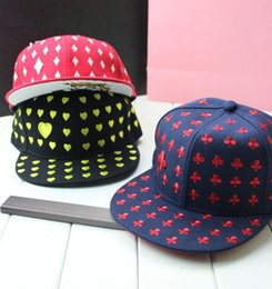 Wholesale 2014 new summer snapback caps playing card shaped hip pop hats fashion street dance baseball cap