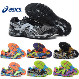 Wholesale Asics Gel Noosa TRI8 VIII Running Shoes For Men Women New Fashion Professional Breathable Athletic Sport Sneakers Size