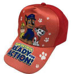 Wholesale 10PCS Children Peaked cap fashion patrol boys girls sun hat kids Anime Cartoon paw baseball baby girls boys mesh cap sport hats