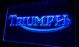 Wholesale LS044 b Triumph Motorcycles Services Repairs Neon Sign home decor shop crafts led sign