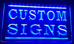 Wholesale LS002 b Colors to Chooose Custom Signs Neon Signs led signs Design your own light with your Logo Text jpg