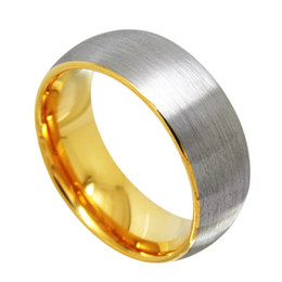 Gold Tungsten ring brushed surface 2mm to 8mm for you choose leave message to let us know which width do you want