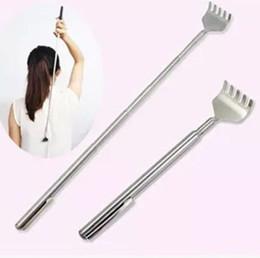 Wholesale Grand escompte Body Massager Pocket Taille Portable télescopique Extensible Extension Retour Scratcher Pen Clip par DHL