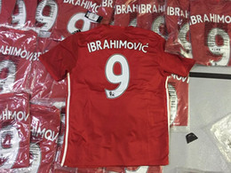 Wholesale 16 EPL POGBA Ibrahimovic MEMPHIS ROONEY Soccer Jerseys Best Thail Quality SCHWEINSTEIGER MATA BLIND SMALLING YOUNG Soccer Jersey Jerseys