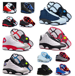 Wholesale online Factory Store Mens Retro s Basketball Shoes Sneakers Cheap Good Quality XIII Original Quality shoes