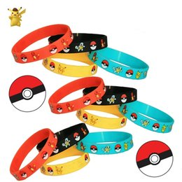Wholesale Children s Toys Magic Baby Cartoon Anime Peripheral Elves Silicone Bracelets Kids Wristband Pikachu Bracelets Wristband Silicone Bracelet