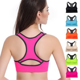Wholesale Yoga Quick Drying Underwear No Rims Running Shockproof Professional Sports Bra Camisole Explosion Models Manufacturers Free Shoppi