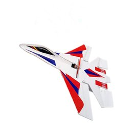 Wholesale Hot Sale RC Jet Plane SU RC Airplane Electric Remote Control Airplanes KT Foam Led Light RC Fighter Jets Kits Toys