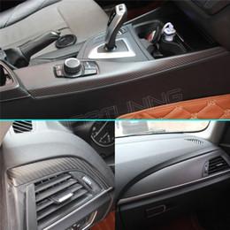 2017 acabado mate 7 / serie de BMW 1 F20 F20 2012201320142015 116I 118I 120i M135i raspador interior de fibra de carbono acabado negro mate acabado mate Rebaja