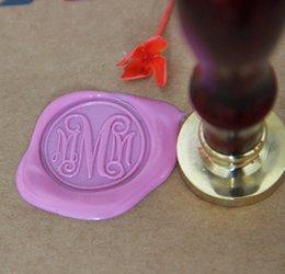 Wholesale Personalized Wax Seal Stamp Wedding Custom Initials Monogram wedding stamp