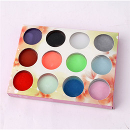 Wholesale Powder Dust D DIY Mix Colors Acrylic Nail Art Tips UV Gel Color Of Carve Patterns Or Designs On Woodwork Powder Decoration Set