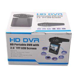 2017 soltar la leva Envío de la gota 1080P coche DVR H198 100W píxeles LCD 2.4inch Cámara del registrador de las cámaras del registrador de las cámaras digitales caja negra Grabador video descuento soltar la leva