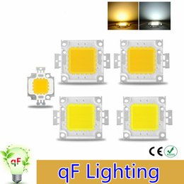 Wholesale High Power Epistar COB LED Chip W W W W W DC V V Integrated Beads SMD For Floodlight Spotlight Warm White White