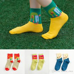 Haute qualité 2016 Corée du Sud mignon illustrations tête plongée chaussettes girafe en coton coloré chaussettes dame d'hiver A041 à partir de girafe haute fabricateur