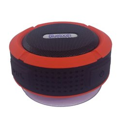 Mini Portable Wireless Bluetooth Speaker with Sucker Support Hands-free Calls Function for Mobile Phone Water Resistant