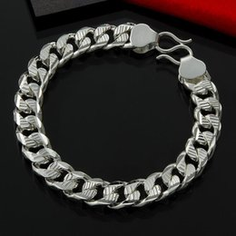 Factory direct wholesale and retail 925 Sterling Silver 10M flower car S Buckle Bracelet Silver Jewelry