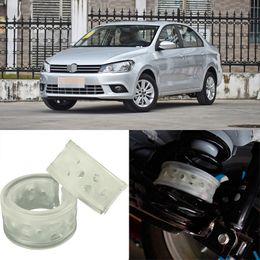 2X Size D Rear Car Auto Shock Absorber Spring Bumper Power Cushion Buffer Special For Volkswagen Jetta