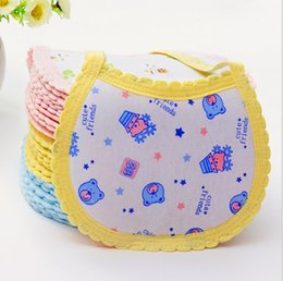 Wholesale The baby bib for dinner Cotton large sized saliva towel Maternal and child supplies cotton baby bib DH027