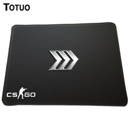 Wholesale Counter Strike Global Offensive Event csgo silver iii rank logo Covered edge Mouse mouse pads sign Best Optical large mouse mat