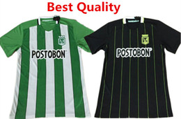 Wholesale 2016 Soccer Jersey Atletico Nacional Medellin Maillot de foot Ibarbo Diego Arias Cardenas Luis Carlos Home Football Shirts Top Quality