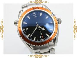 fahion brand watch men automatic mechanical hand wind waches Co-Axial planet ocean watch orange bezel watches men dress wristwatches