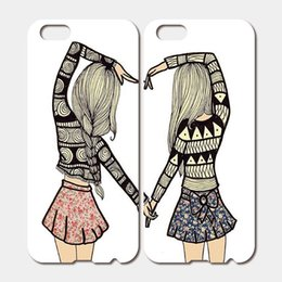 Wholesale For iPhone S Plus SE S C S iPod Touch Hard PC BEST FRIENDS FOREVER Phone Cases