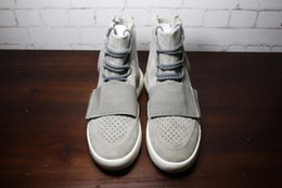 Wholesale With Box Factory Direct Sale Kanye West Boost Sneakers Ankle Boots Basketball Shoes Best Quality Athletic Boot Free DHL Shipping