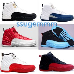 2016 air retro 12 12s XII man Women Basketball Shoes flu Game Gym red ovo white playoffs french blue wolf grey cherry repilcas Sneakers