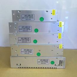 100W 120W 180W 250W 360W transformer AC220V To DC 12V Lighting Transformers Led Switching Power Supply For Led Display Communication