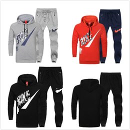 Wholesale New hot Top quality fashion Original brand logo Casual sportswear Men Outerwear Spring Autumn Hoodies Sweater Sports suit large size L XL
