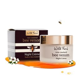 Wholesale Parrs Bee Venom Night Cream with Active Manuka Honey ml night cream for women face skin care face creams health and beauty